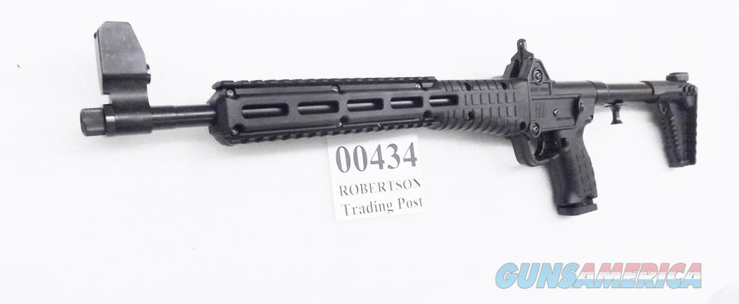 Kel-Tec 9mm Carbine Sub 2000 Beretta 92 Magazine Compatible NIB Generation 2 SUB2K9BRTA92BBLKHC  Blued/Black Grip 00434 Threaded Muzzle   Guns > Rifles > Kel-Tec Rifles