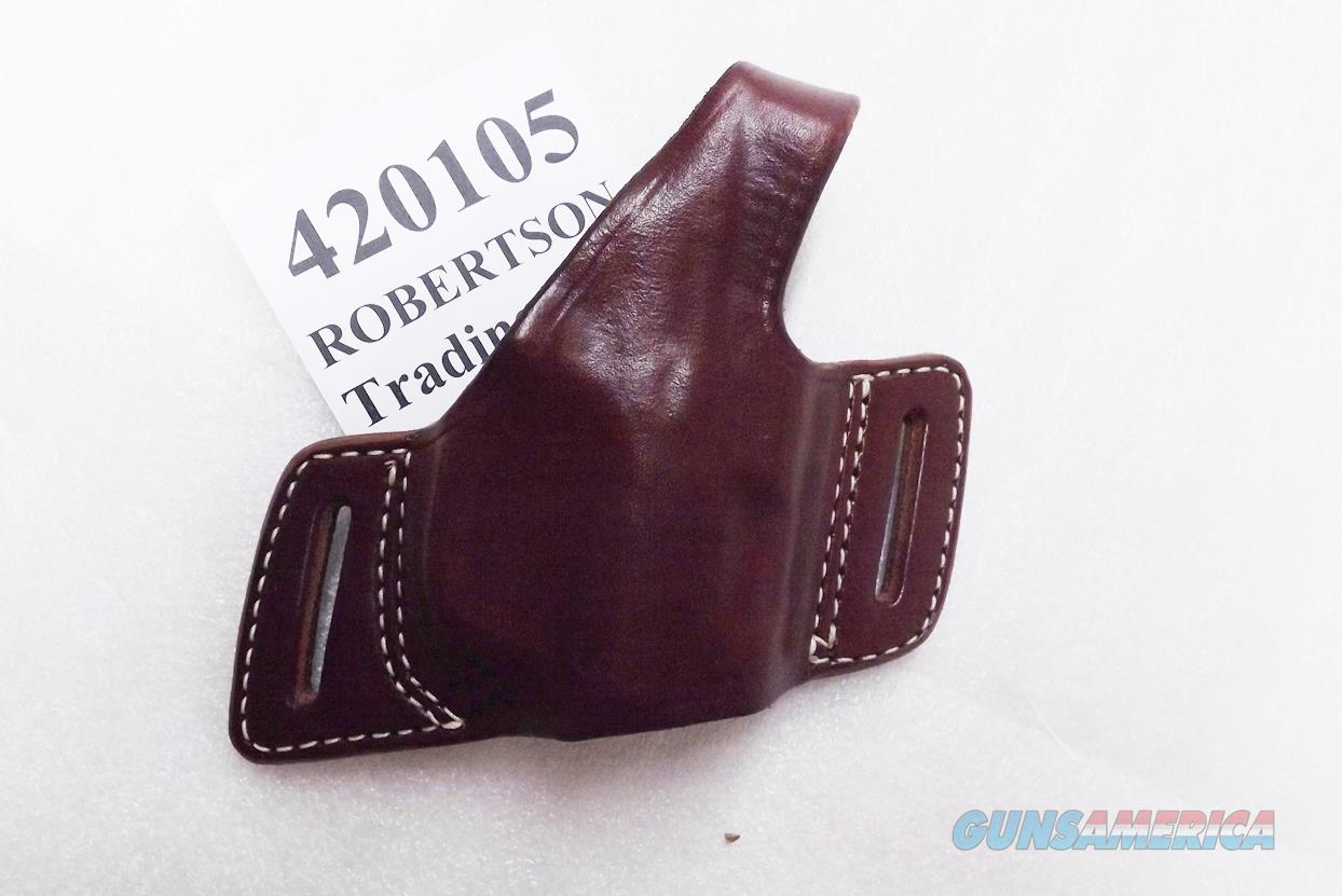 Triple K Leather Holster Secret Agent 420105 S&W SD M&P HK 2000 Sig P220 P226 Glock 20 21 29 30  Thumb Break Right Hand Brown Walnut Oil 3 ship Free!  Non-Guns > Holsters and Gunleather > Large Frame Auto