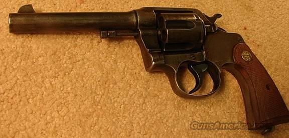 Colt 1917 .45 ACP Revolver VG GHS Military Marked  Guns > Pistols > Colt Double Action Revolvers- Pre-1945