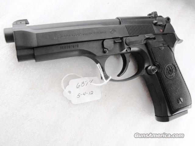 Beretta 92FS 9mm Black Ice Teflon 3 Dot 16 Shot 2 Magazines   Guns > Pistols > Beretta Pistols > Model 92 Series