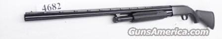 Mossberg 12 gauge model 500 All Purpose Blue & Synthetic 3 inch 28 inch .715 Accu-Choke Vent Rib Recoil Pad Excellent Condition Factory Demo 56420BU  Guns > Shotguns > Mossberg Shotguns > Pump > Sporting