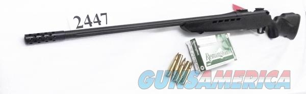 Mossberg .30-06 4x4 Matte Blue 24 inch Fluted with Muzzle Brake Weaver Mounts LBA Set Trigger Black Synthetic Stock Exc Factory Demo 27548  Guns > Rifles > Mossberg Rifles > 4x4 > Sporting