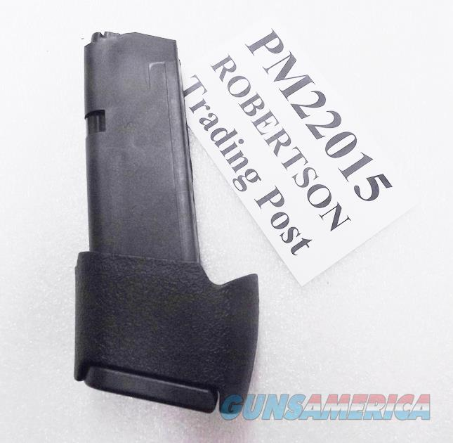 Glock 27 33 Factory 15 Round Magazines with Pro Mag Extension 40 S&W or 357 Sig Gen 4 Glock MF22015 Pro-Mag PM089A Fourth Gen .40 Smith & Wesson or .357 Sig Caliber model 33 Pistols Ambidextrous Mag Release Buy 3 Ships Free!  Non-Guns > Magazines & Clips > Pistol Magazines > Glock