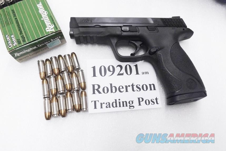 Smith & Wesson 9mm M&P9 NIB 18 shot 2 New Act-Mag Magazines 109201 S&W MP9 8# 4 in. Magazine Safety   Guns > Pistols > Smith & Wesson Pistols - Autos > Polymer Frame