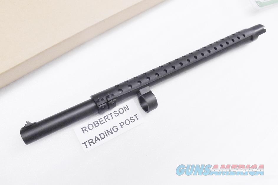 "Remington 12 gauge 870 Express Barrel 3"" 18"" with Trench Gun type Heat Shield Bead Sight 24620 .721 Police Cylinder Matte Blue New  NO CT NO NY  Non-Guns > Barrels"