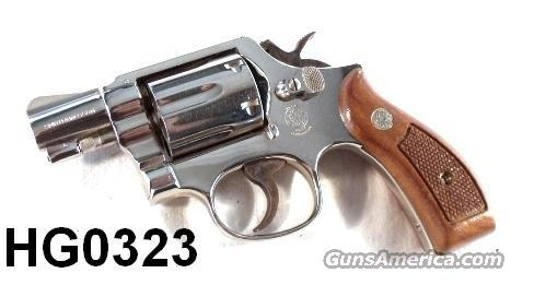 S&W .38 M&P Airweight 12-3 Nickel 2 in Exc 1979 mfg  Guns > Pistols > Smith & Wesson Revolvers > Pocket Pistols
