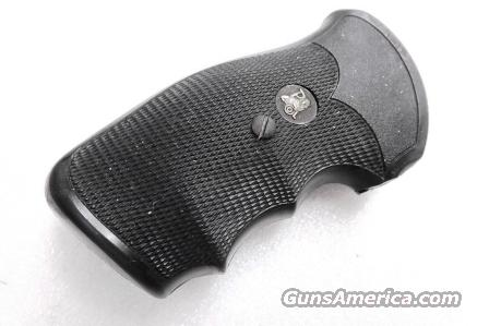 Grips S&W K or L Frame Square Butt Pachmayr Gripper Used Good Condition Modified   Non-Guns > Gunstocks, Grips & Wood