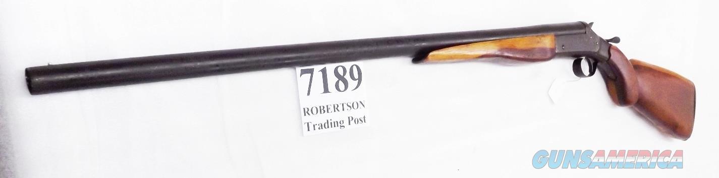 Shapleigh Hardware's Diamond Arms 12 gauge 30 Full 2 3/4 inch .703 Muzzle Crescent Arms ca 1920s Mississippi Delta African American Field Hand Cedar Stock &Forend  Guns > Shotguns > Savage Shotguns