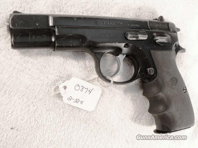 CZ-75 9mm Czech Police 1992  VG 1 High Capacity 15 Shot Magazine CZ75 CZ model 75 Ceska Zbrojovka  Guns > Pistols > CZ (Ceska ZBrojovka) Pistols