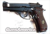 Beretta 380 Model 84 Israeli Police 14 Shot 1987 mfg M84 M-84BBW  Guns > Pistols > Beretta Pistols > Small Caliber Tip Out