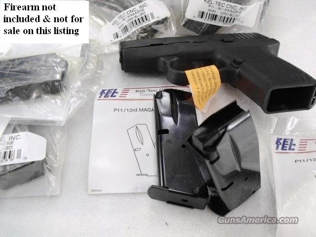 Kel-Tec P11 9mm Factory 12 Shot Magazines New Blue Keltec tech teck P1136LE  Non-Guns > Magazines & Clips > Pistol Magazines > Other
