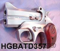 Bond Arms .357 / .38 Spl Texas Defender Derringer 3 in SS NIB  Guns > Pistols > Bond Derringers