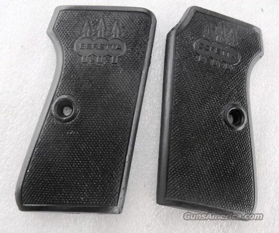 Beretta Logo Grips 1934 .380 or 1935 .32 Triple K Black Polymer New GR1530G Model of 1934 380 Automatic Model of 1935 32 Automatic   Non-Guns > Gun Parts > Grips > Other