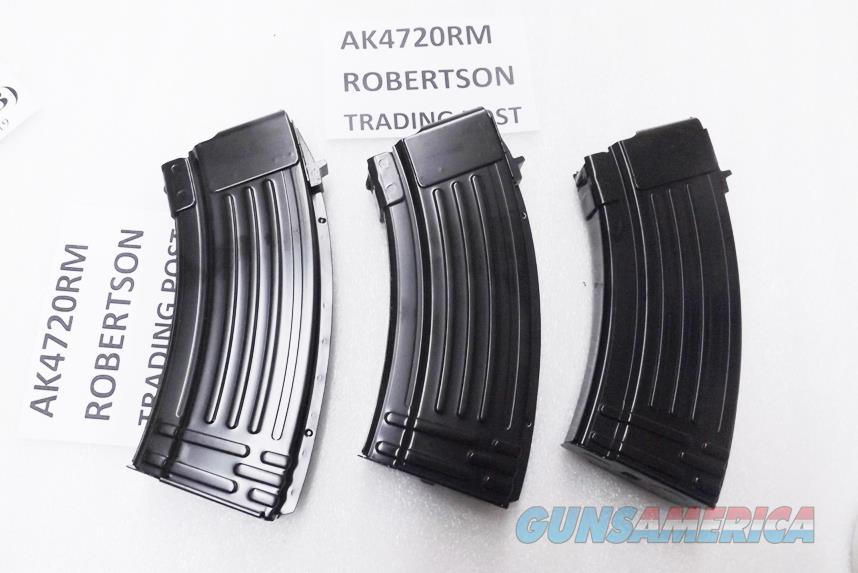 3 AK47 Magazines 20 Shot All Steel KCI Korea 7.62x39 AK Semi 76239 New Steel AK4720RM $12.90 each free ship lower 48   Non-Guns > Magazines & Clips > Rifle Magazines > AK Family