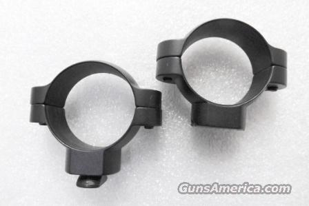 Mount Rings Leupold Matte Steel 30mm High Excellent Redfield Type SM0458   Non-Guns > Scopes/Mounts/Rings & Optics > Mounts > Other