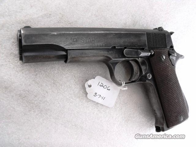 Star Spain 9mm Model B Colt Government Size Steel Frame 1953 Israeli Army Police 1 Magazine C&R CA OK  Guns > Pistols > Star Pistols