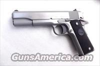 Colt .45 ACP Government Model Stainless 45 Automatic 1911 / 1991A1 Series 80 New in Box   Guns > Pistols > Colt Automatic Pistols (1911 & Var)