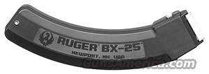 Ruger 10/22 Rifle or Charger Pistol Magazine 25 Shot .22 LR BX25 90361 25 round Buy 3 Ships Free!  Non-Guns > Magazines & Clips > Rifle Magazines > 10/22