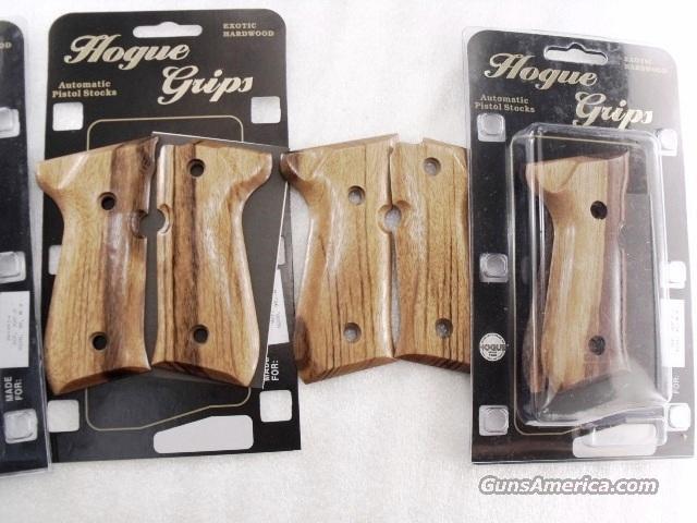 Grips Beretta 92F M9 Goncalo Alves Exotic Wood Hogue New GR92210  Guns > Pistols > Beretta Pistols > M9