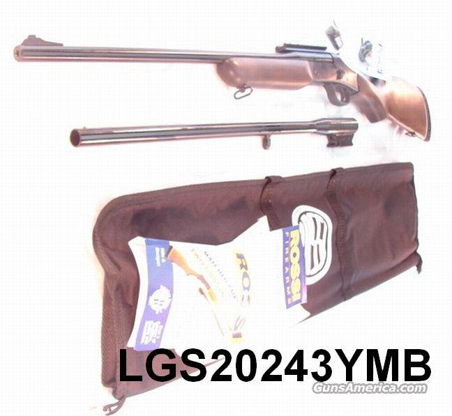 Rossi Braztech .243 / 20 ga Combo  Youth 22 in Goncalo NIB / Discont.  Guns > Shotguns > Rossi Shotguns