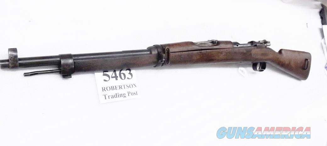7mm Mauser Lowe Germany 1916 Spanish Oveido Blue Walnut with Guard Bow 22 inch 5 round 7x57mm caliber C&R OK  Guns > Rifles > Mauser Rifles > Spanish
