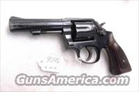 S&W .38 Special Model 10-6 Blue 4 inch Heavy Pinned Barrel 38 Spl M10 mod 10 VG 1966  Guns > Pistols > Smith & Wesson Revolvers > Full Frame Revolver