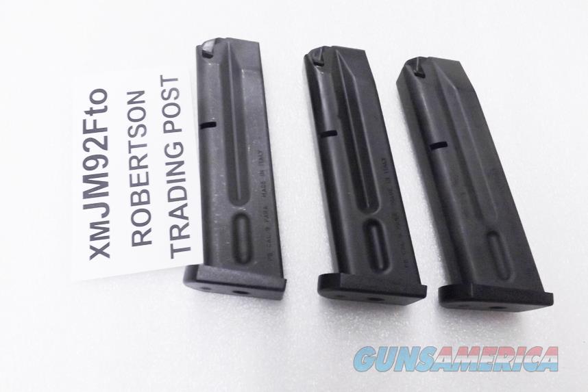 Beretta 92FS 9mm Factory 10 shot Magazines New & Unissued Italian All 92 Series Pistols 92S 92SB 92SBF 92F M9 with Act-Mag Sub Option   Non-Guns > Magazines & Clips > Pistol Magazines > Beretta