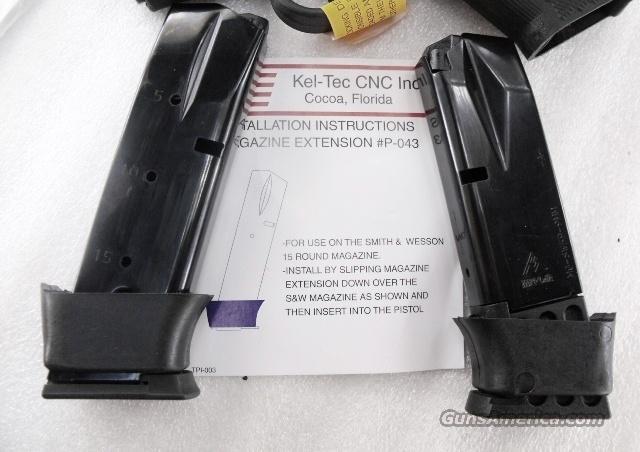Kel-Tec P11 9mm 15 Shot Magazine Mec-Gar with Factory KelTec Grip Extension  Non-Guns > Magazines & Clips > Pistol Magazines > Other