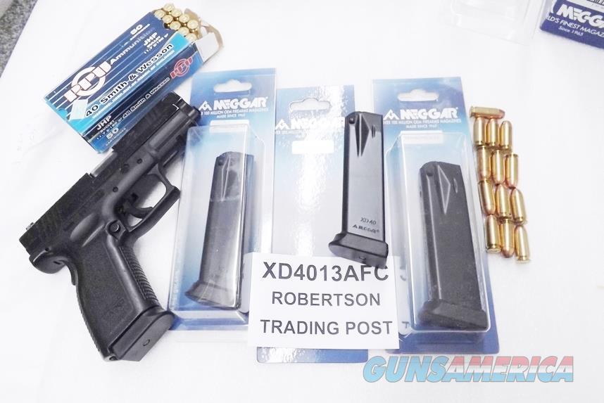 Springfield Armory XD40 Magazines Mec-Gar 13 Shot / round Hi-Cap .40 S&W caliber New NO XDM MGXD4013AFC   Non-Guns > Magazines & Clips > Pistol Magazines > Other
