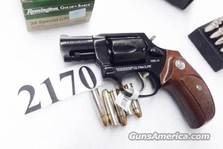 Taurus .38 Special +P Model 85 Ultra Lite with Walnut Combat Grips Smith & Wesson Model 37 Airweight Chief copy Snub Nose 38 Spl 2 inch 17 oz Blue Alloy Excellent in Box Factory Demo 2850021UL   Guns > Pistols > Taurus Pistols/Revolvers > Revolvers