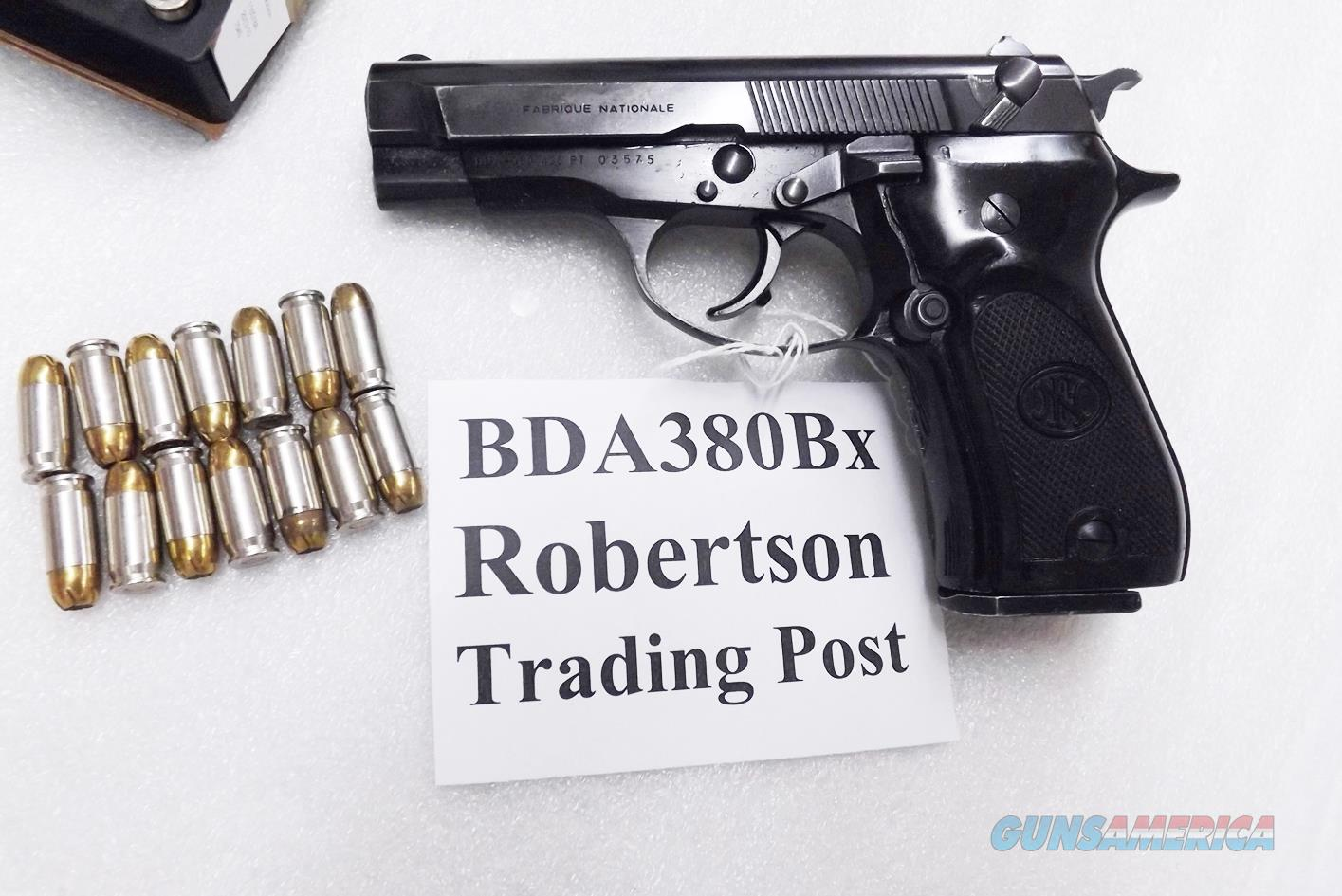 FN BDA380 .380 ACP 1986-87 Browning mate Italian 14 Shot Excellent Condition 1 Magazine 4205122 ty J84F200M Cheetah type 3 1/2 inch Blue   Guns > Pistols > Browning Pistols > Other Autos