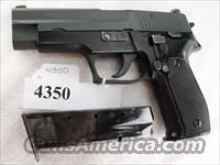 Sig 9mm P-226 Swiss Police Black Ice OD Green Teflon Slide P226 Sig Sauer all German with two Mec-Gar Magazines CA MA OK 1994 		  Guns > Pistols > Sig - Sauer/Sigarms Pistols > P226