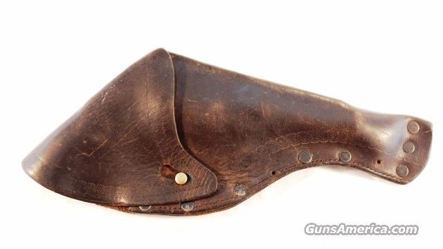 Holster Pre-WWI Santa Clara CA 6 inch .38 DA S&W & Similar Good Cond  Non-Guns > Holsters and Gunleather > Revolver