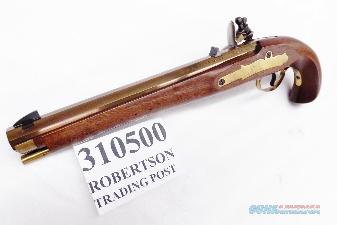 Davide Pedersoli .50 Kentucky Flintlock Pistol 020S310500 Mint Unfired 1990 Production   Guns > Pistols > Pedersoli Pistols > Flintlock