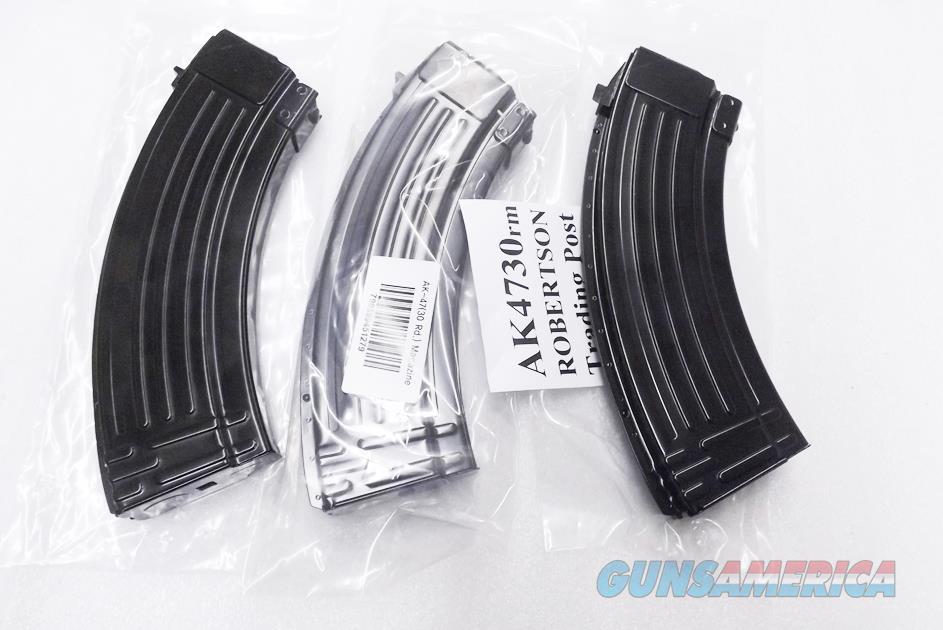 3 AK47 Magazines 30 Round All Steel KCI Korea 7.62x39 AK Semi 76239 New Steel Teflon Finish AK4730RM $19 each free ship lower 48   Non-Guns > Magazines & Clips > Rifle Magazines > AK Family