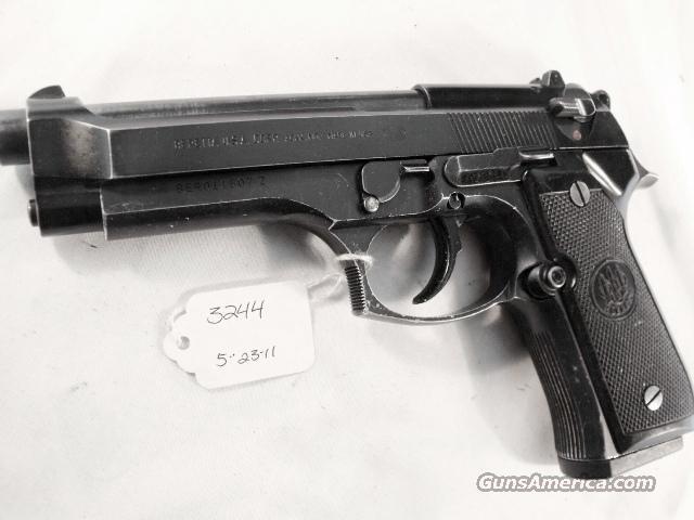 Beretta 9mm Model 92F 1988 Los Angeles County Sheriff's Department with 1 15 Round Magazine   Guns > Pistols > Beretta Pistols > Model 92 Series