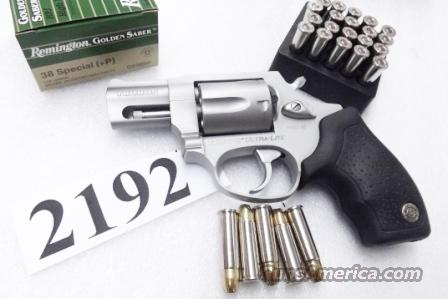 Taurus .38 Special +P Model 85 Ultra Lite Stainless Smith & Wesson Model 637 Airweight Chief copy Snub Nose 38 Spl 2 inch 17 oz Lightweight Alloy Excellent in Box Factory Demo California Compliant 2850029UL   Guns > Pistols > Taurus Pistols/Revolvers > Revolvers