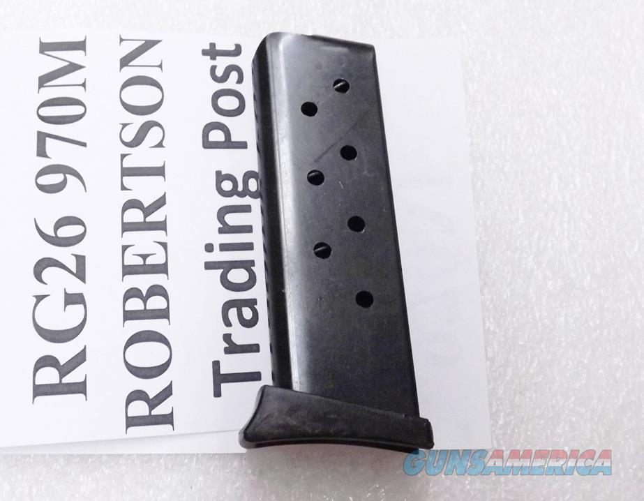 Triple K 6 Shot Magazine For RG Industries Rohm RG26 Pistols .25 ACP 970M Blue Steel 25 Automatic $3 Ship 3 Ship Free   Non-Guns > Magazines & Clips > Pistol Magazines > Other