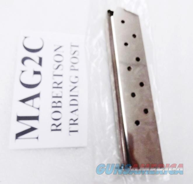 Colt Government .45 ACP OEM Italy 10 Shot Magazines New Stainless MAG2C 1911 Type 45 Automatics Buy 3 Ships Free!   Non-Guns > Magazines & Clips > Pistol Magazines > 1911