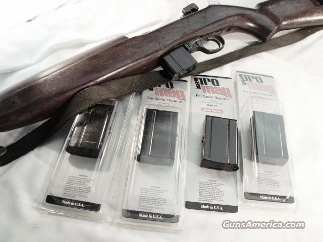 Pro-Mag brand 10 Shot Magazines for US .30 caliber carbines, brand new blue steel. BUY 3 SHIPS FREE!  Non-Guns > Magazines & Clips > Rifle Magazines > Other