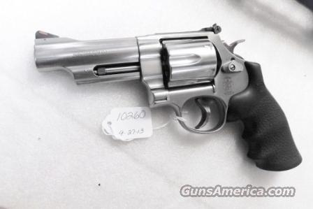 Smith & Wesson .44 Magnum model 629-6 Stainless 4 inch 44 Mag Special 2002 Production 1st Year Lock Variant Exc to Near Mint in Flat Blue Box with Papers  Guns > Pistols > Smith & Wesson Revolvers > Model 629