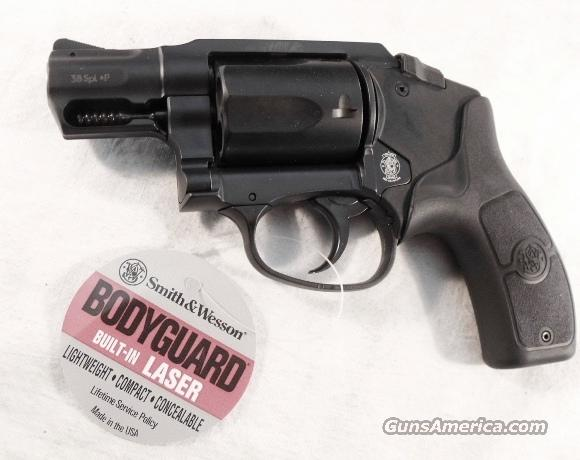 Smith & Wesson .38 Special BG38 Bodyguard Revolver Polymer Laser Sight NIB 38 Special +P Competitor BG-38   Guns > Pistols > Smith & Wesson Revolvers > Pocket Pistols