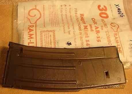 Clip for Colt .223 AR-15 or Mini-14 Ram-Line Exc 30 shot 1980s Mfg  Non-Guns > Magazines & Clips > Rifle Magazines > AR-15 Type