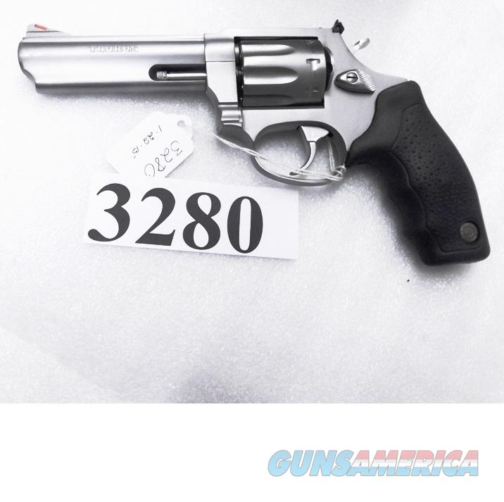 Taurus .22 Magnum model 941 Stainless 8 shot 4 inch Full Lug Red Ramp White Outline Adjustable Combat Grips S&W 651 Descendant Exc in Box 22 Winchester Mag 2941049   Guns > Pistols > Taurus Pistols/Revolvers > Revolvers