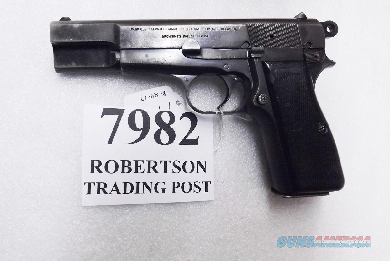 FN Browning 9mm Hi-Power 1965 Israeli 051004393 type Century Arms Stamped 1 Magazine Good Blue 14 round 1 Magazine C&R CA OK  Guns > Pistols > Browning Pistols > Hi Power