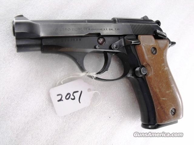 Beretta .32 ACP Cheetah 81-W Blue ca. 1979 Italian VG 1 Magazine 32 Automatic model 81W Walnut   Guns > Pistols > Beretta Pistols > Cheetah Series > Model 81