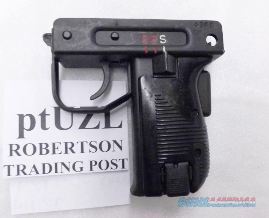 IMI Israel Uzi Lower Grip Assembly Complete DES German Issue Very Good Oxide Steel for RI1658 type Carbines  Guns > Rifles > IMI Rifles