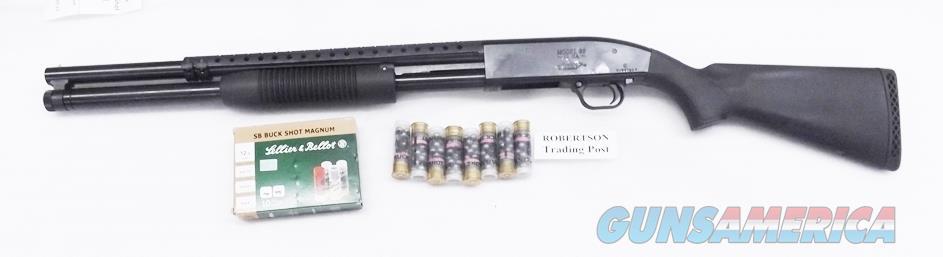 Mossberg 12 gauge 8 Shot Maverick 88 Special Purpose Security 3 inch 20 inch Police Riot Cylinder Trench Gun Type Tactical Heat Shield Beadsight Black NIB Tactical or Home Defense 31046   Guns > Shotguns > Mossberg Shotguns > Pump > Tactical