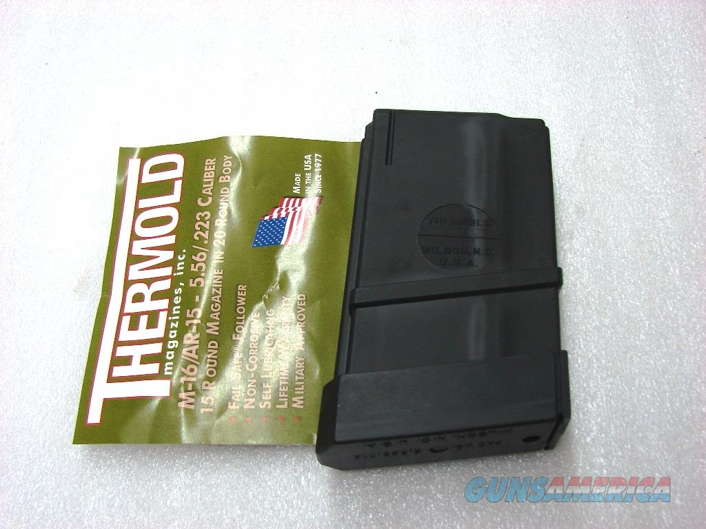 Colt AR-15 M-16 .223 Magazines Thermold 15 round CO NJ OK New & Unissued AR15 M16 Bushmaster DPMS Kel-Tec P16 Buy 3 Ships Free!   Non-Guns > Magazines & Clips > Rifle Magazines > AR-15 Type