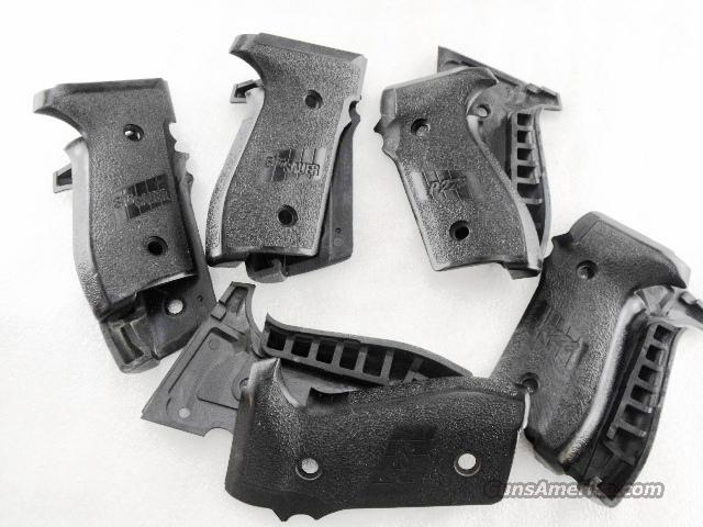 Grips Sig Arms P-228 P229 Factory Panels Good Condition P228 Sig Sauer   Non-Guns > Gunstocks, Grips & Wood